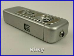 Minox IIIs Vintage Spy Subminiature camera with Complan 15mm f/3.5 Lens #61190