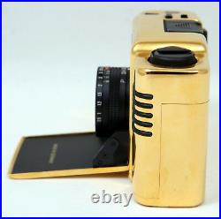 Minox M. D. C Collection 24 Carat Gold 35mm Film Camera c/w Cabinet, Box & Papers