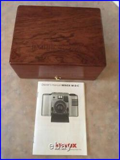 Minox M. D. C Collection 24 Karat Gold 35mm Film Camera And Case