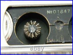 Minox VEF Riga I Lativa Pre-War (1938) Subminature Camera 12-tooth #01647 RARE