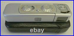 Minox Vintage Model B Film Camera, Case, User Manual -Germany TESTED