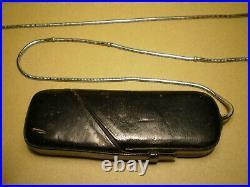Minox Wetzlar Mini Vintage Spy Camera In Leather Case Good Condition Germany