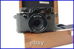 Minox miniatur Leica IIIf black Swedish Army Type Minoctar f5,6 15mm je202