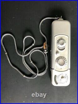 Minox spy camera withchain