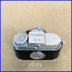 Mycro III A Subminiature Spy Film Camera (HIT TYPE) With 20mm 14.5 Lens & Case