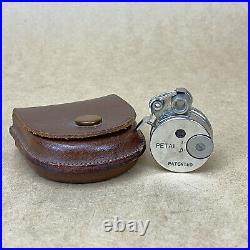 Petal Subminiature Spy Camera Sakura Seiki MIOJ With Leather Case