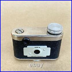 Petie Vintage Subminiature Spy Film Camera HIT TYPE With Original Box & Manual