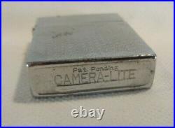 RARE CAMERA-LITE Vintage Spy Camera Lighter