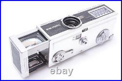 ROLLEI 16S BLACK'SNAKE SKIN' SUBMINIATURE CAMERA With ZEISS TESSAR 25MM LENS