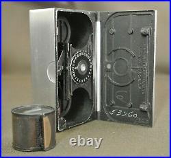 Rare 1940's Era Whittaker Micro 16 Subminiature 16mm Film Spy Camera With Case
