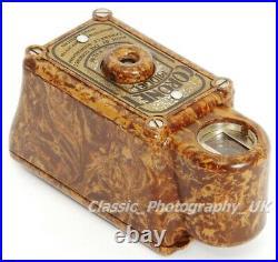 Rare! Light Brown Coronet MIDGET Mini-Camera by the CORONET Camera Co Birmingham