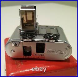 Rare Tessina L Subminiature Reflex Camera With Accessories Clean/working