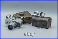 Riken Steky IIIB Original Case, 2pcs Lens 13,5 F=2,5cm + 15,6 f=40mm + Filter