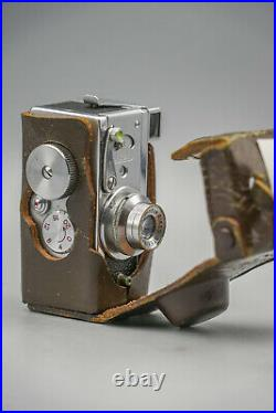 Riken Steky IIIB Original Case, Excellent Condition, Miniature camera 1955