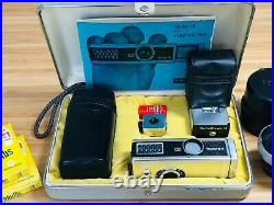 Rollei 16S Subminature 16mm Film Camera Outfit with Mutar Lens, Filters & More