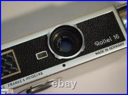 Rollei 16 Kamera 16mm Film Objektiv Carl Zeiss Tessar 2,8/25 mm (Sammlerstück)