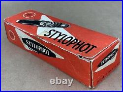 SECAM STYLOPHOT FRENCH 1960s SUBMINIATURE CAMERA with Original Box Nice