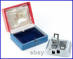 SPY CAMERA Tessina automatic 35mm Concava No. 263452 Made in Switzerland BOXED