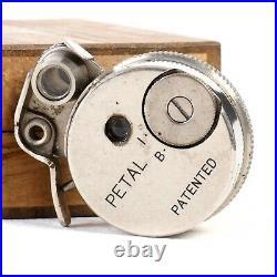 Sakura Seiki Japan Petal Subminiature Spy Pocket Camera with Original Box RARE