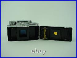 Snappy 14x14 Vintage Subminiature Spy Camera with Leather case & Manual Rare