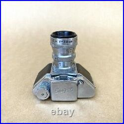 Snappy Subminiature Film Camera With Cherry Tele 40mm 5.6 Lens VINTAGE NICE