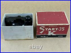 Start 35 K Ikkosha Vintage Black Bakelite Subminiature Camera with Original Box