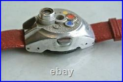 Steineck ABC subminiature spy watch camera, c. 1948, excellent condition