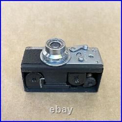 Steky Model III Vintage Subminiature Spy Film Camera MIOJ With Anastigmat 25mm 3.5