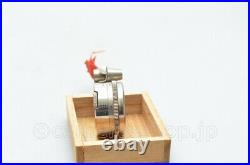 Subminiature camera with wooden box and instruction