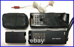 Super Rare Subminiature Sonocon 16 MB-ZA 7 Transistor Radio With Minolta 16 II