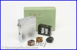 Suzuki Optical Co. Echo 8 Lighter Spy Camera Boxed Subminiature