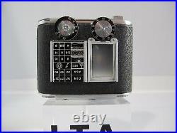 TESSINA 35 Made in Switzerland miniature camera kit completo molto raro BLACK