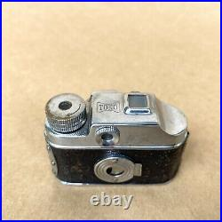 TOKO Vintage Subminiature Spy Film Camera (Hit Type) With 4.5 Lens & Leather Case