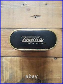 Tessina 35 Automatic 35mm Subminiature Camera & Case Nice, clean