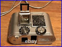 Tessina Automatic 35mm Swiss Made Subminiature Film Camera With Accessories