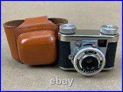 Tuxi Kunik vintage 1950s Subminiature Camera Made in Germany with Case Clean