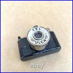 ULCA TSL Black Vintage Subminiature Spy Film Camera Made In Pittsburgh NICE