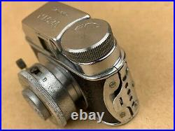 VESTA G. R. C. Ginrei Co. With 20mm Lens Hit Type Vintage Subminiature Camera Rare