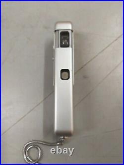 VINTAGE MINOX WETZLAR MINI SPY CAMERA COMPLAN 13,5 F=14mm + RED CASE & CHAIN