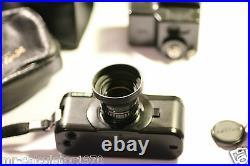 VINTAGE Pentax Auto 110 Film Camera + 12.8 24mm Lens