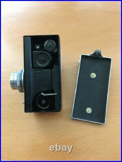 VINTAGE STEKY IIIB 16mm Sub-Miniature Camera with 2.5cm f/3.5 Lens & Case
