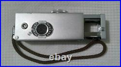 VTG Minty ROLLEI 16 Camera Kit withORIGINAL Strap+2 FILTERS/+Tripod Head+Film Can