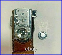 VTG STEKY MODEL III / 3 MINIATURE SPY CAMERA 16mm AND CASE MINI SPY CAMERA JAPAN