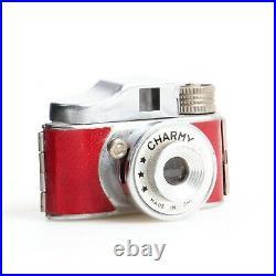 ^ Vintage Charmy Miniature Red Spy Camera EX+++