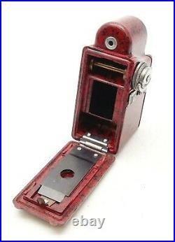 Vintage Coronet Midget Spy Camera Red Uk Dealer