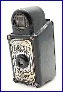 Vintage Coronet Midget Sub-miniature Spy Camera Black Uk Dealer