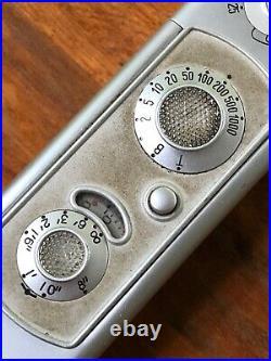 Vintage MINOX Wetzlar Model B'Spy Camera' & Case / chain
