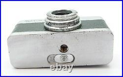 Vintage Meopta Mikroma II Sub-miniature Camera Green Leather Uk Dealer