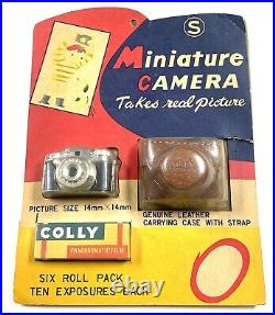Vintage Miniature Camera in original packaging brand new never used