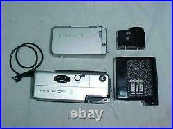 Vintage Minolta 16 QT Film Camera Subminiature With Original Case + Minolta -16